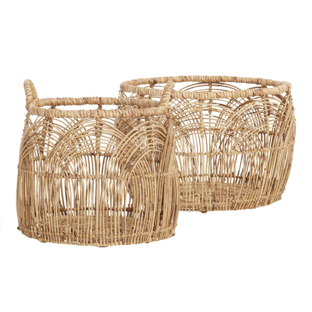 Natural Rattan Eve Basket Collection $49.99 - $69.99 https://fave.co/37jD86h