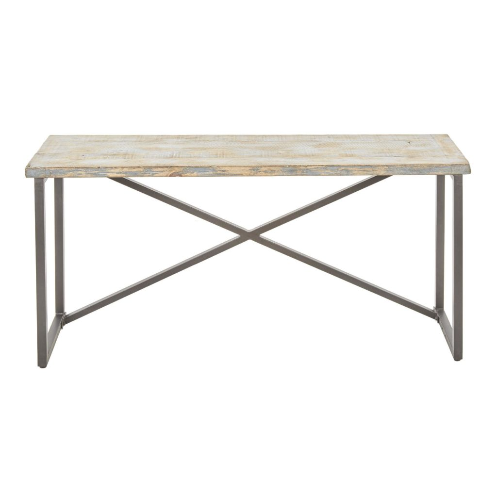 Antique Blue Reclaimed Pine Sita Console Table $479.99