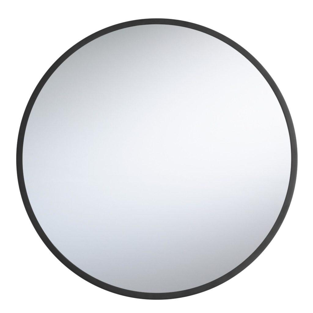 Round Black Sana Mirror $169.99