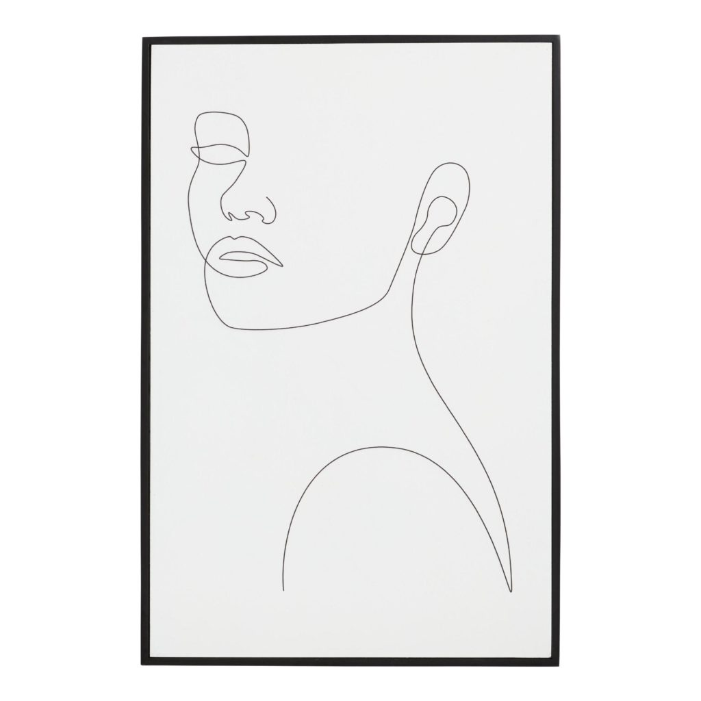 Girly Portrait By Madara Framed Wall Art $47.99
