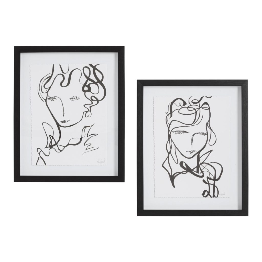Fabulous By Nikol Wikman Framed Wall Art Set Of 2 $47.98