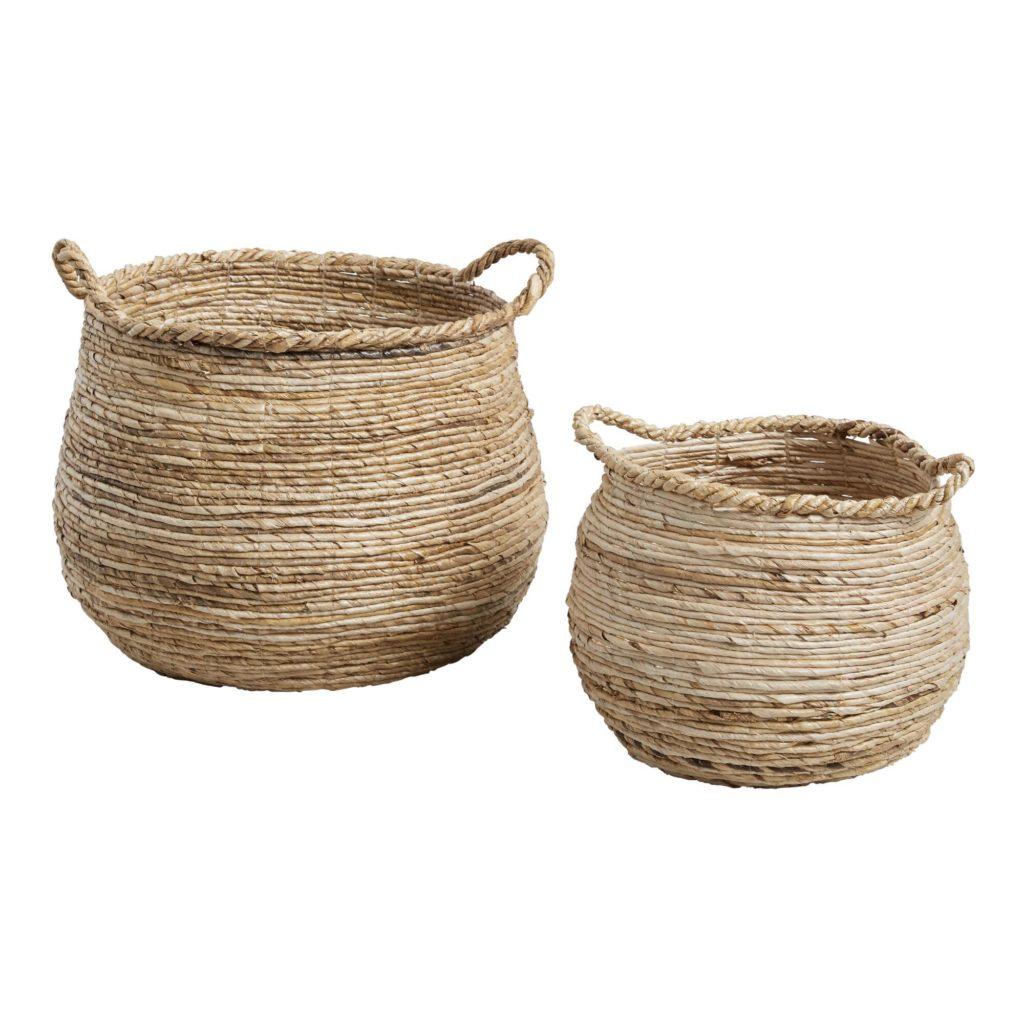 Banana Leaf Cora Tote Basket $29.99-39.99