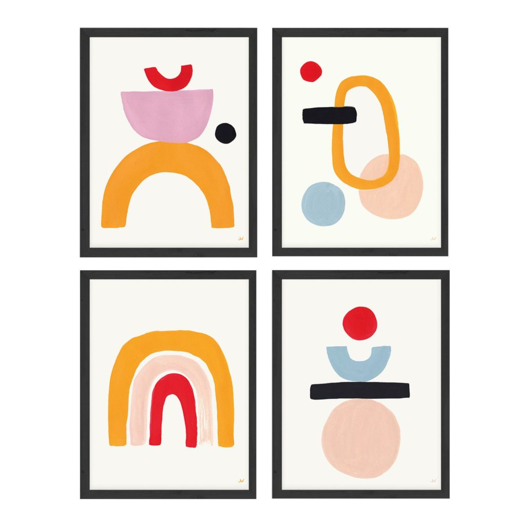 Arch, Balance, Equilibrium, Engage Framed Wall Art Set Of 4 $199.99https://fave.co/38QkFOM