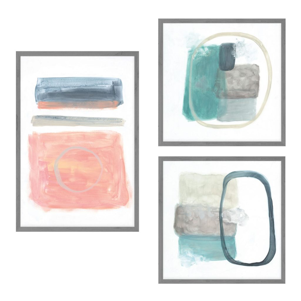Transparencies Set Framed Canvas Wall Art Set Of 3 $199.99https://fave.co/2S2YldV