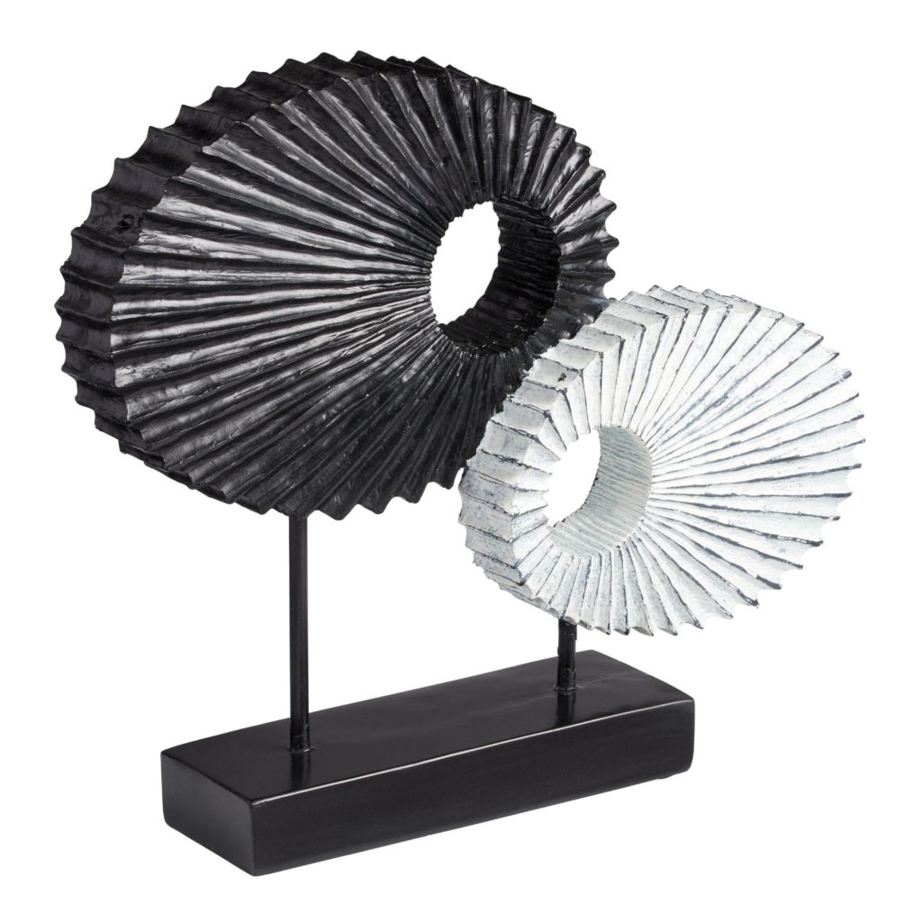 Abstract Oval Decor On Stand $29.99