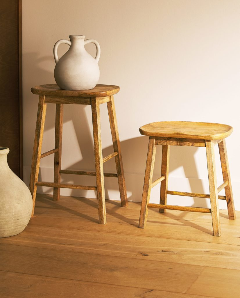 WOODEN STOOL $99.90