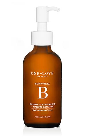 BOTANICAL B ENZYMEcleansing oil + makeup remover $42.00