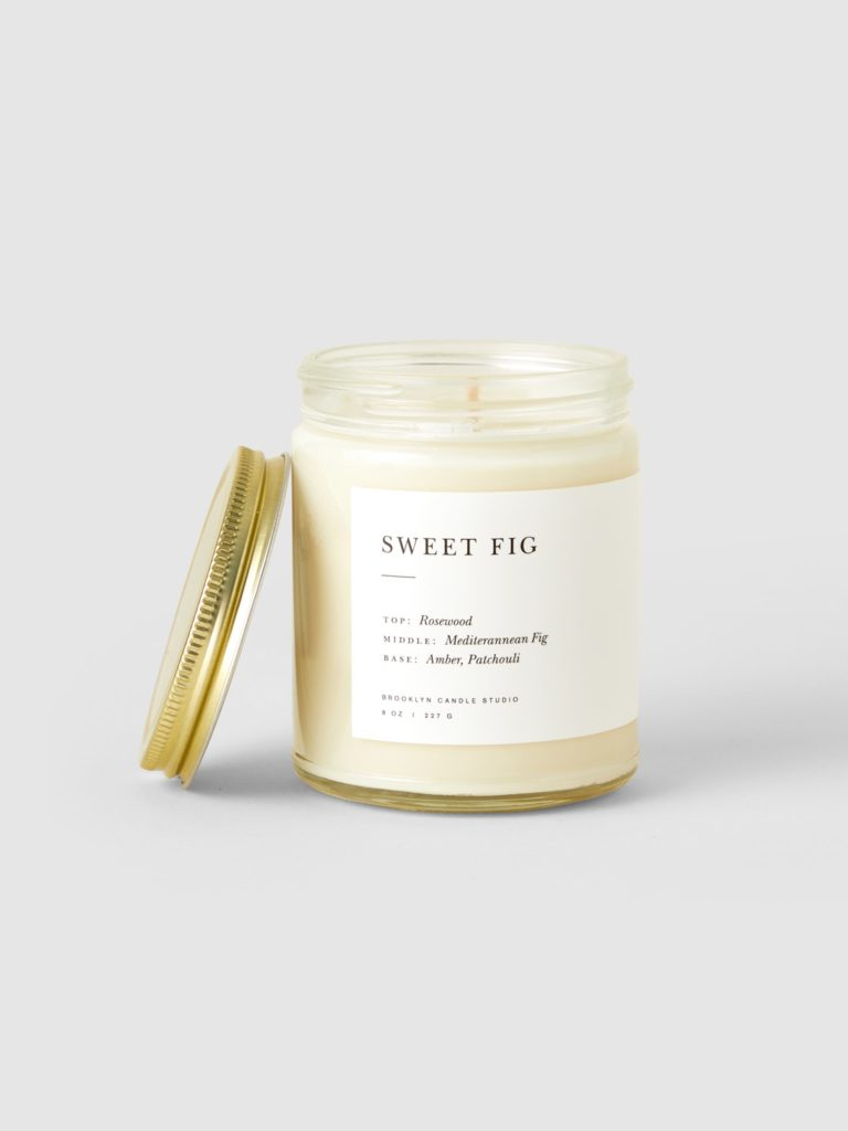 Brooklyn Candle Studio Sweet Fig Minimalist Candle $24.00