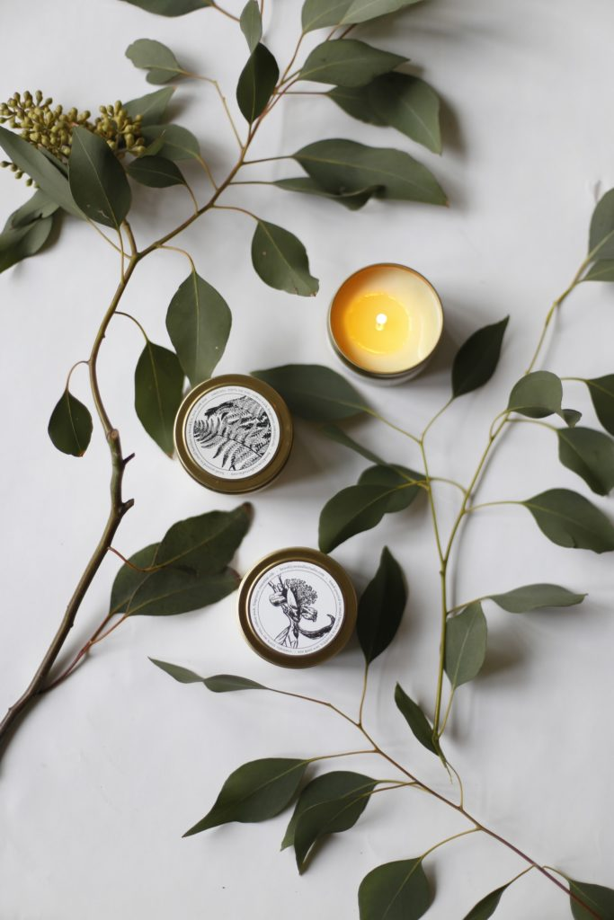 Brooklyn Candle Studio Fern + Moss Gold Travel Candle $15.00