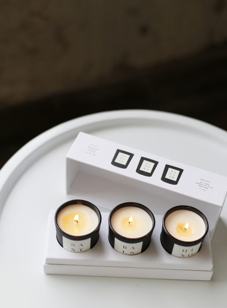 Brooklyn Candle Studio 3 Votive Set: Woods