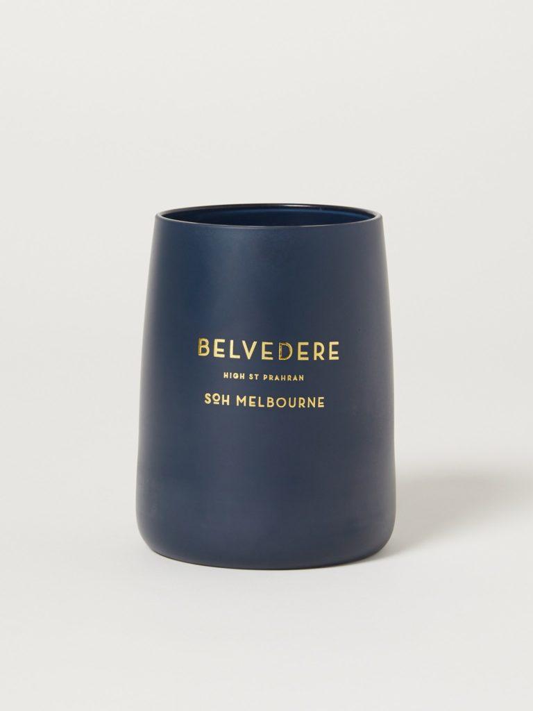 SoH Melbourne Belvedere Navy Matte Candle $70.00