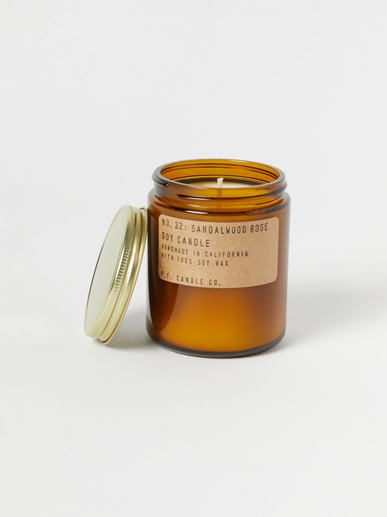 P.F. Candle Co. Sandalwood Rose Candle $20.00