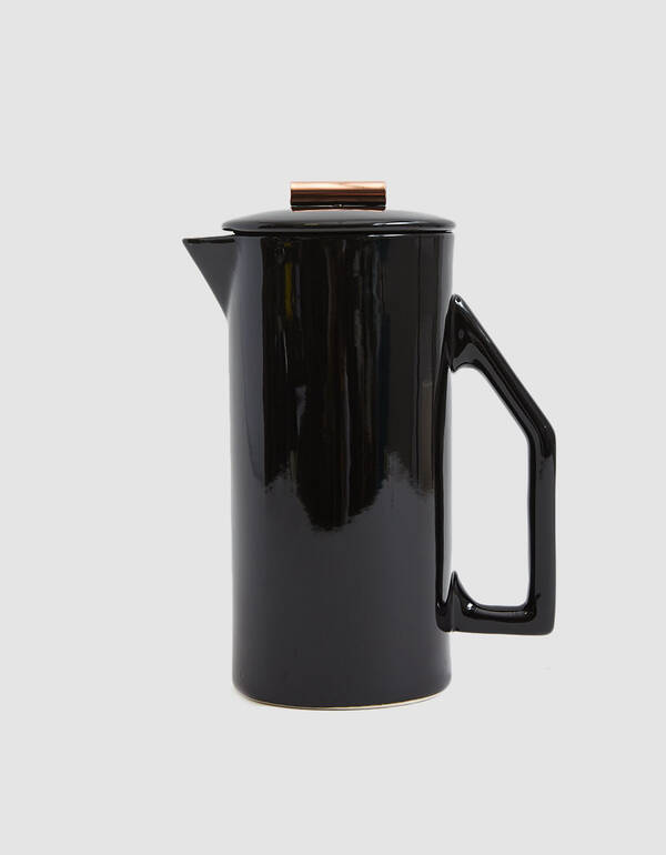 Yield Design Ceramic French Press in Black$120.00