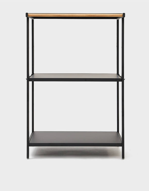 Yamazaki Home Tower Three-Tier Storage Rack in Black $145.00