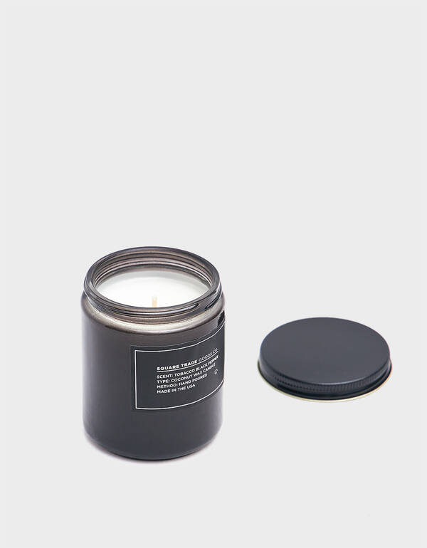Square Trade Goods Co. 8 oz. Tobacco Black Pepper Candle $28.00