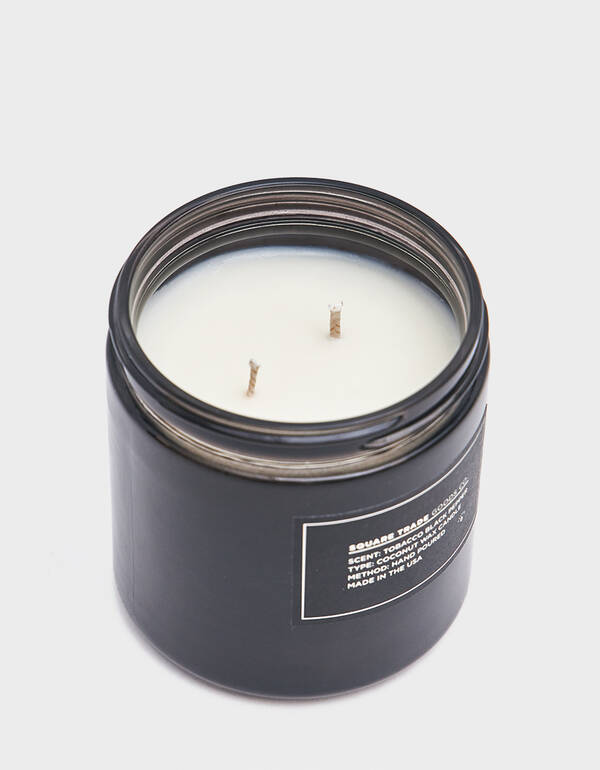 Square Trade Goods Co. 16 oz. Tobacco Black Pepper Candle $40.00
