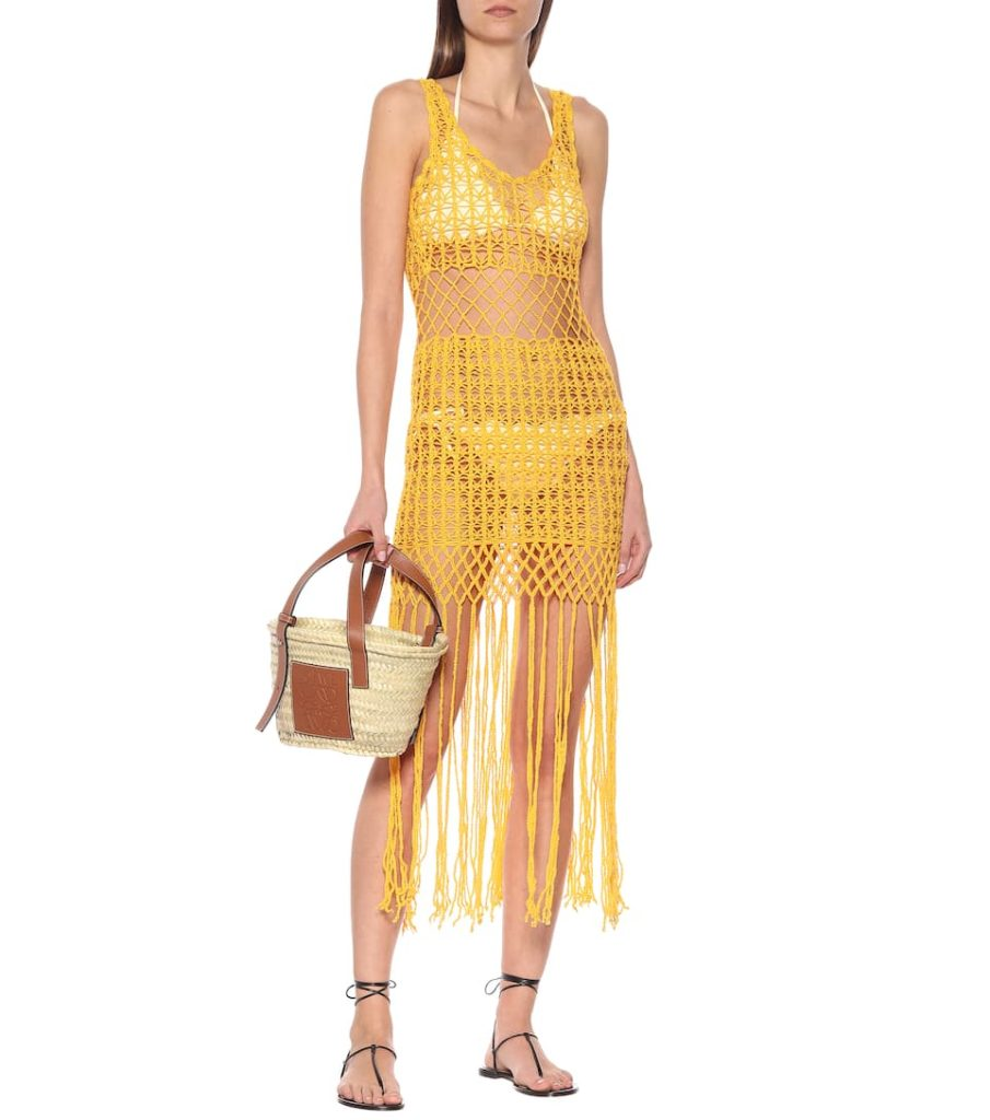 ANNA KOSTUROVA Gypsy crochet midi dress $ 260