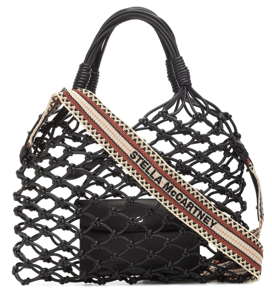 STELLA MCCARTNEY Faux-leather net tote$ 925