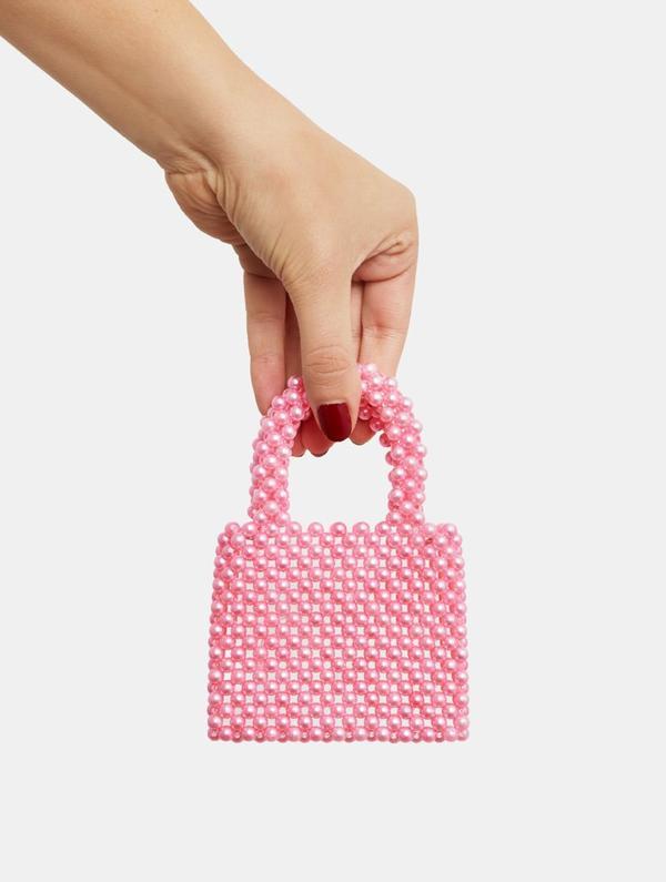 Micro Pink Penelope Tote Bag $19.00