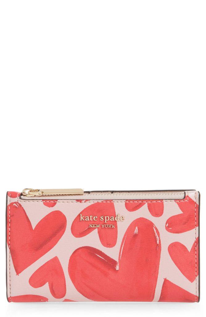 small spencer ever fallen slim bifold wallet KATE SPADE NEW YORK $98.00