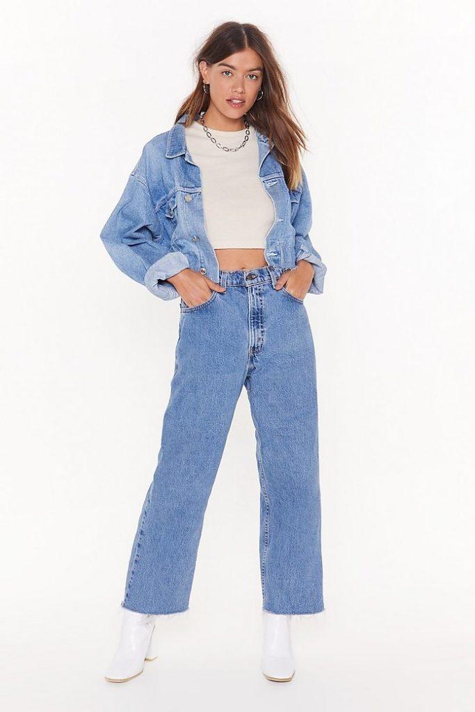 Nasty Gal Vintage Momma Don't Like You Denim Jeans $31.50
