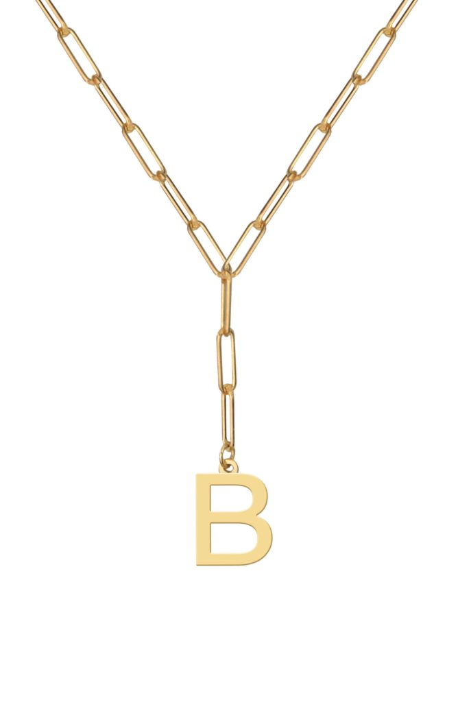 Initial Pendant Necklace $200.00