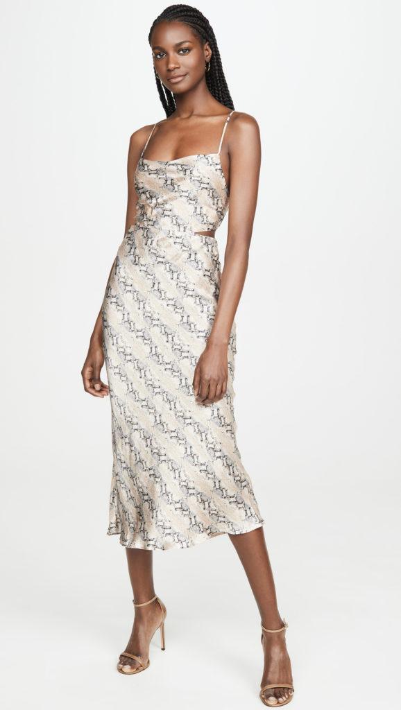 Bec & Bridge Python Midi Dress $290.00