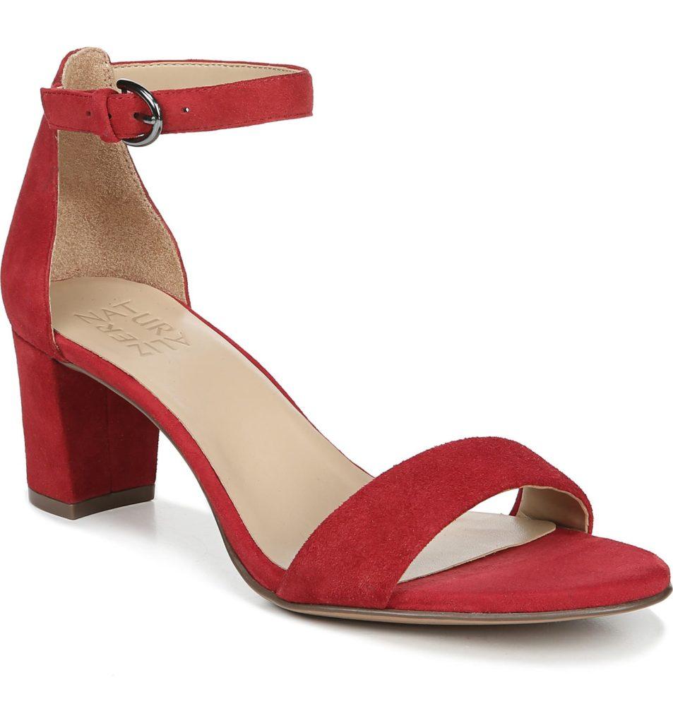 Vera Ankle Strap Sandal NATURALIZER $110.00