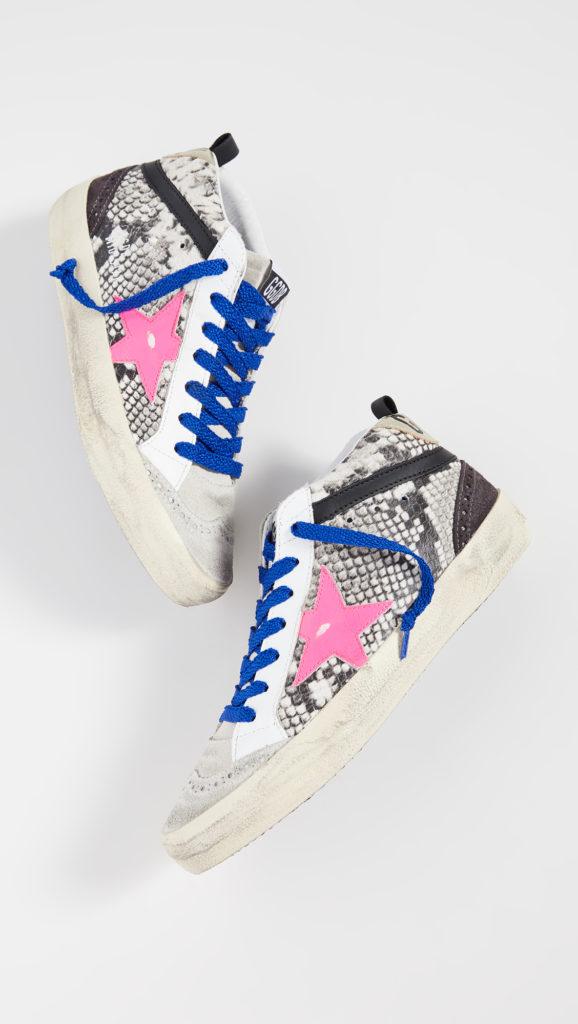 Golden Goose Mid Star Sneakers $605.00