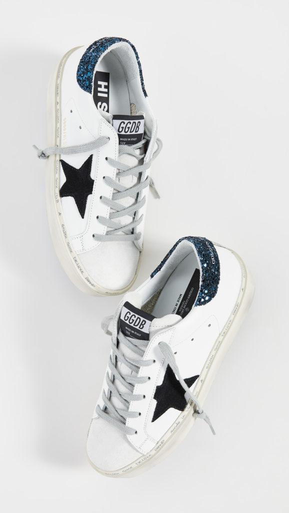 Golden Goose Hi Star Sneakers $525.00