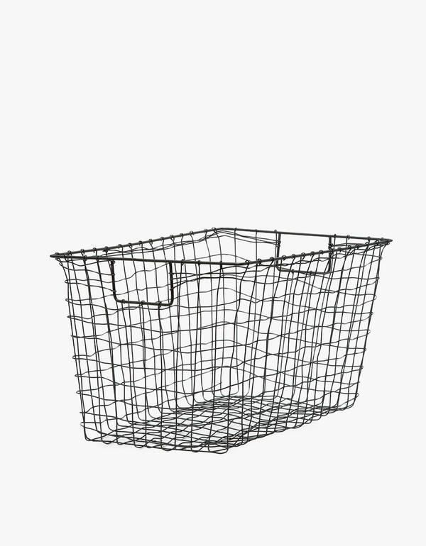 Fog Linen Large Standard Basket $45.00