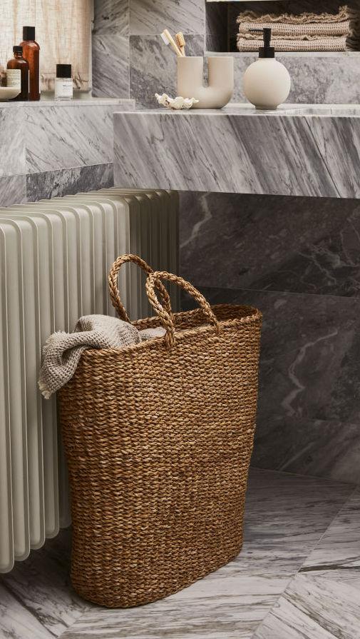 Handmade Laundry Basket $34.99