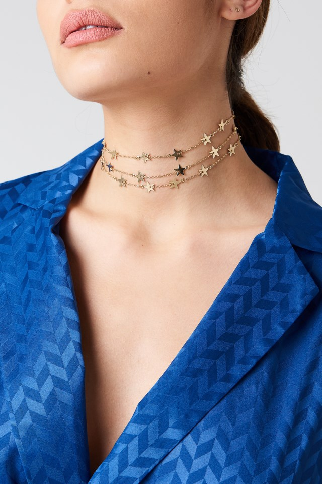 Multistar Row Choker $11.95