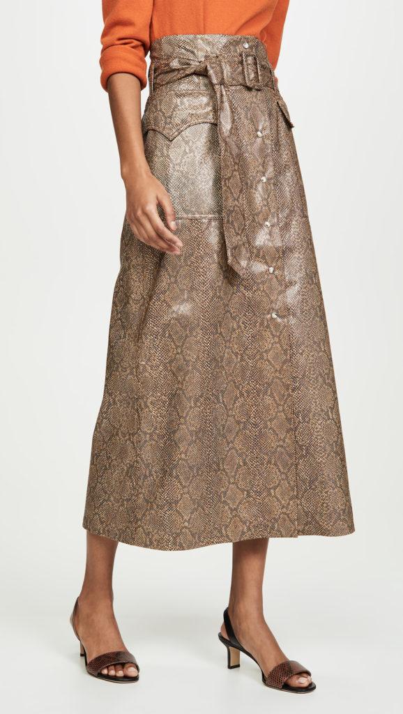 Nanushka Aarohi Skirt $297.00