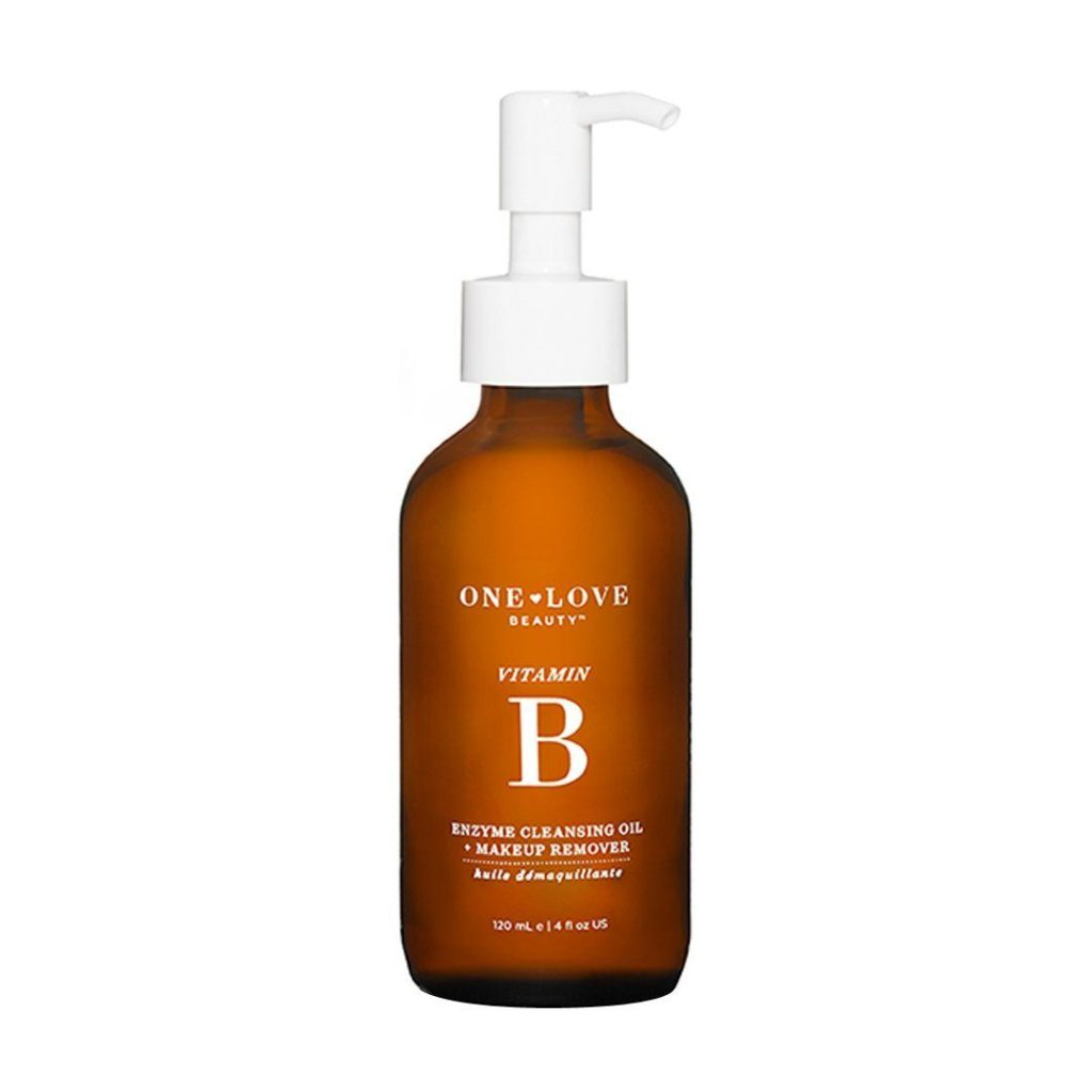 One Love Organics Vitamin B Enzyme Cleansing Oil + Makeup Remover $42.00