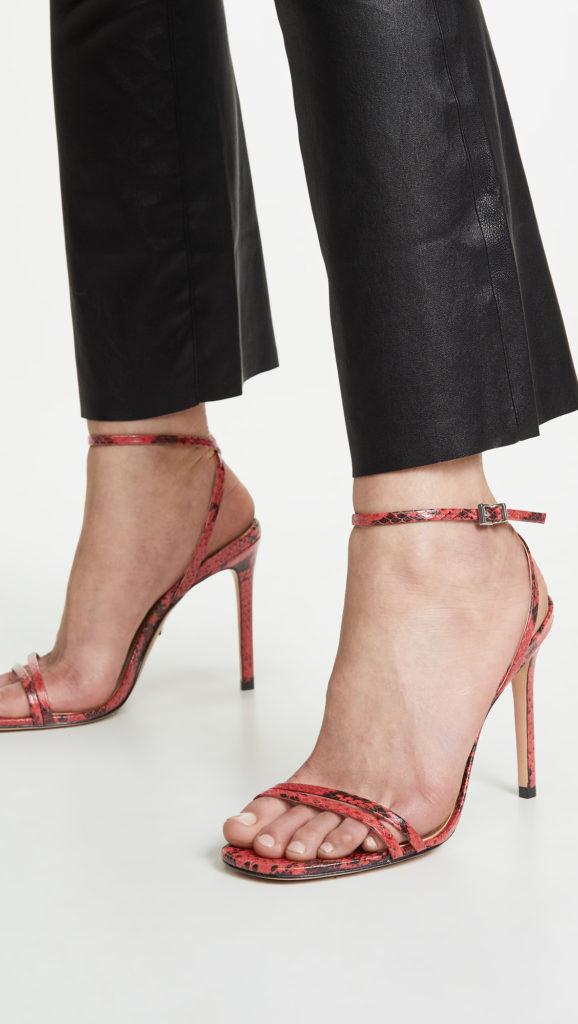 Schutz Altina Ankle Strap Sandals  $82.50