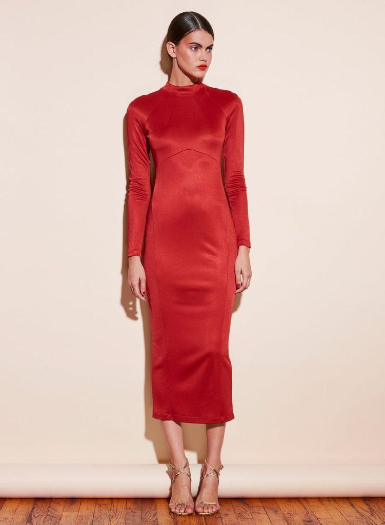 SLINKY LONG DRESS $545.00