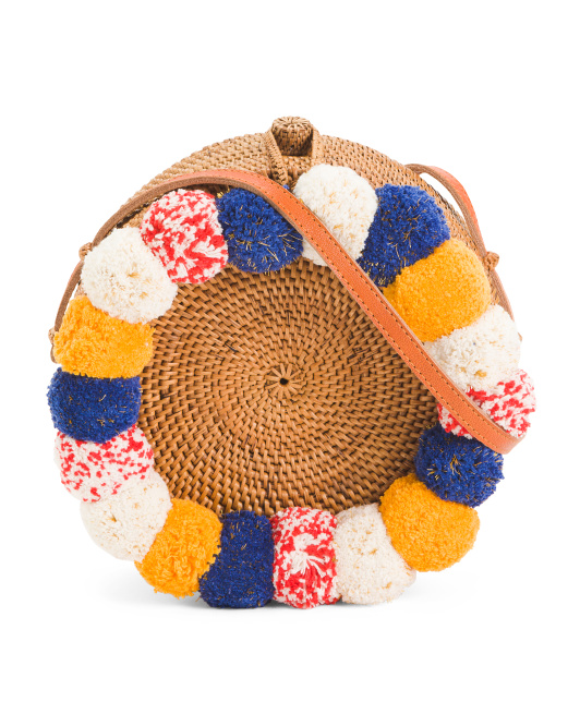 CLEOBELLA Handwoven Basket Crossbody$59.99