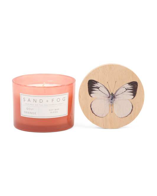 Goji Orange Soy Wax Candle $7.99