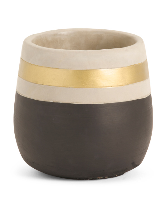 THREE HANDS Two Tone Planter $9.99