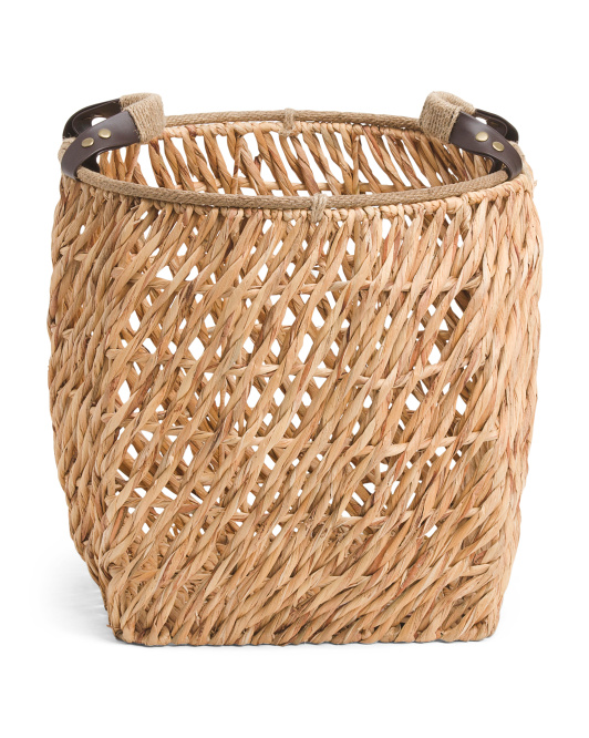 MADE IN VIETNAM Large Natural Twist Basket $29.99