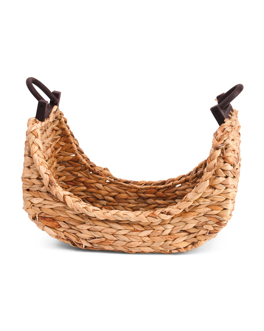 RGI HOME Medium Natural Boat Shaped Basket $19.99