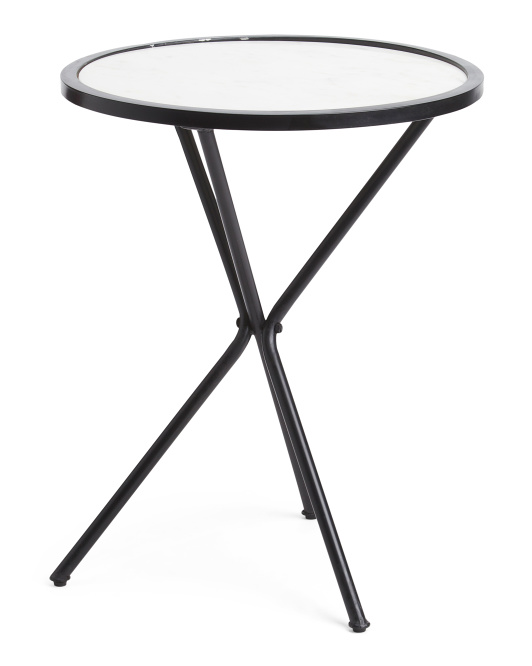 CLASSIC HOME Dwight Marble End Table$79.99