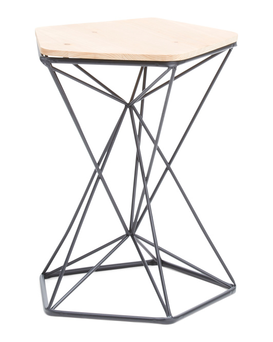 PRIVILEGE Metal Base Table $59.99