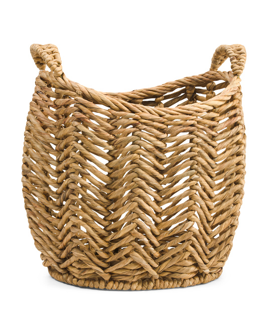 MADE IN VIETNAM Made In Vietnam Small Twist Oval Basket $19.99