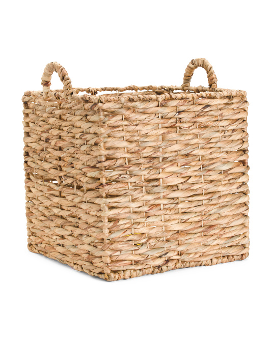 MADE IN VIETNAM Medium Square Natural Twist Storage $29.99