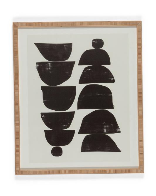 DENY DESIGNS 19x22.5 Dan Hodbay Minimal Plant Wall Art $29.99