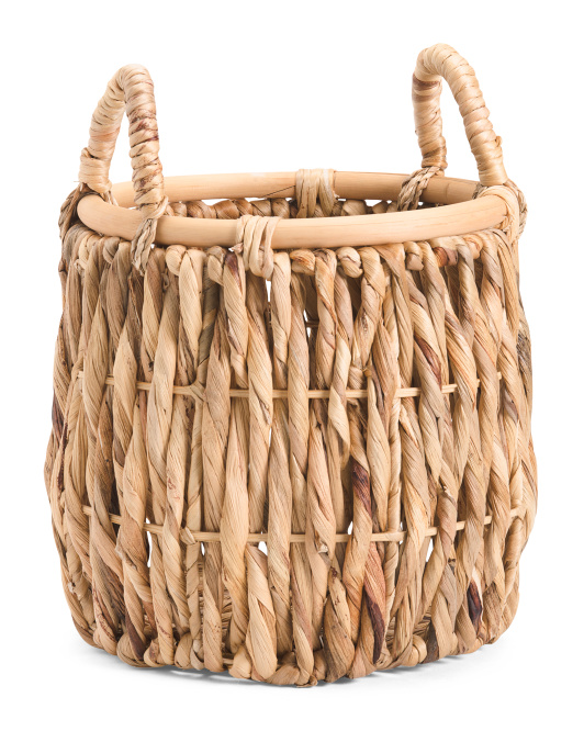 HOUSE & GARDEN Made In Vietnam Small Round Twist Basket $12.99