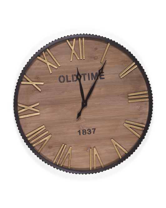 UMA Wood Wall Clock $79.99