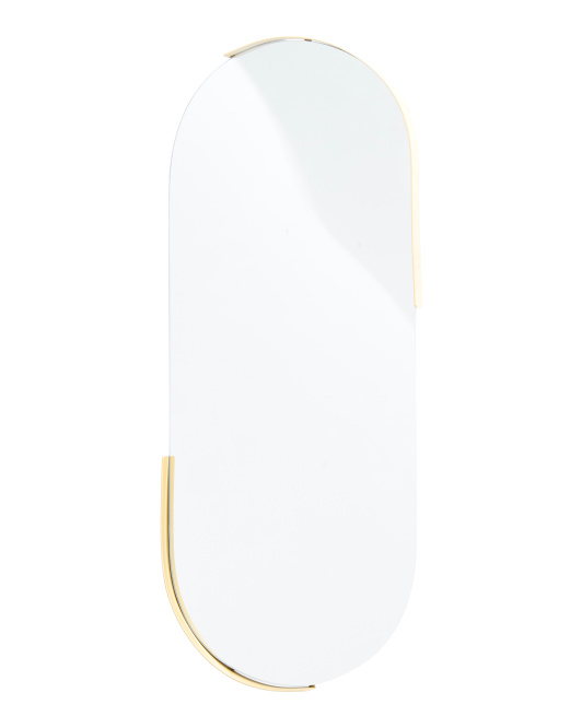 THREE HANDS Oval Wall Mirror $49.99